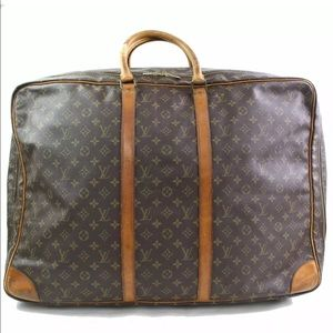 Auth Louis Vuitton Sirius 65 Travel Bag Luggage